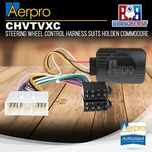 Aerpro CHVTVXC Steering Wheel Control Harness Suits Holden Commodore