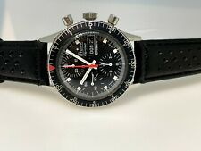 Stowa Chrono Diver Automatic rare chronograph mens watch Valjoux 7750 rally