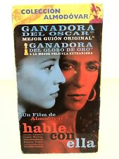 Hable Con Ella (talk To Her) Vhs Tape