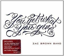 ZAC BROWN BAND YOU GET WHAT YOU GIVE CD NEW SEALED ALAN JACKSON JIMMY BUFFETT
