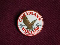 VINTAGE PIN PINBACK COEYMAN'S HOLLOW VOLUNTEER FIRE CORP HOME OF THE EAGLES