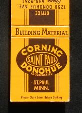 1960s Corning Donohue Building Material Masonry Gravel Saint Paul MN Ramsey Co
