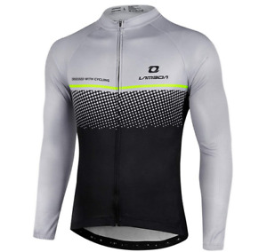 LAMEDA Men's Cycling Long Sleeve Breathable Jeresey Size 2XL - New