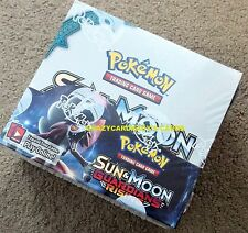 POKEMON SUN & AND MOON GUARDIANS RISING BOOSTER 1/3 BOX 12 PACK LOT FREE SHIP