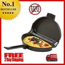 Norpro Nonstick Omelet Pan Kitchen Breakfast Maker 2 Sided Skillet Flipping NEW