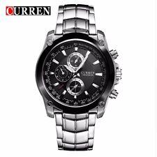 Superbe Montres de luxe CURREN 8025 Affaires Bracelet en Stainless