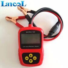 LANCOL MICRO-100 12V Digital Car Battery Load Tester Capacity Diagnostic Tool