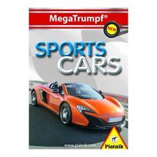 Piatnik 423314 - MegaTrumpf® Quartett Sports Cars, 32 Karten