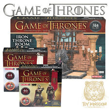McFarlane Building Set HBO Game of Thrones TV Series 1 - SET OF 3 Throne/Banners