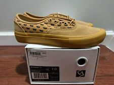 Brand new Vans Syndicate Wtaps Yellow Wings Authentic S Size 7 Golf Wang