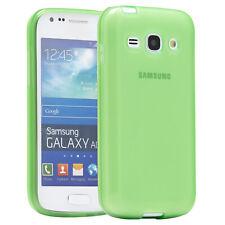 Samsung Galaxy Ace 3 Hülle Schutz Hülle Etui Back Cover Case Grün Glow