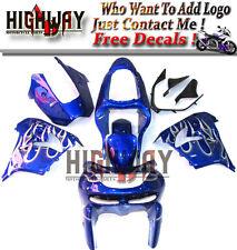 Fairings For Kawasaki ZX9R ZX-9R 1998 1999 ABS Fairing Kit Bodywork Blue White