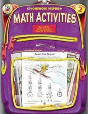 Homework Helper: Math Activities, Grade 2 by School Specialty Publishing Staff,
