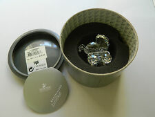 "Swarovski Crystal ""Baby Carriage"" 7473Nr000005 New With Certificate"