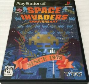 SPACE INVADERS ANNIVERSARY PS2 Japan Import