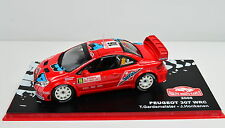 1 43 Ixo Peugeot 307 WRC #16 Rally Monte Carlo 2006