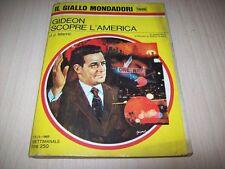 IL GIALLO MONDADORI N.1006-J.J.MARRIC-GIDEON SCOPRE L'AMERICA-1968