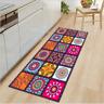 Non-slip Mandala Style Floral Pattern Rug Floor Mat Living Room Carpet Home