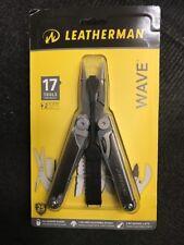NEW Leatherman 830039 WAVE  17 Multitools with Leather/Nylon Sheath
