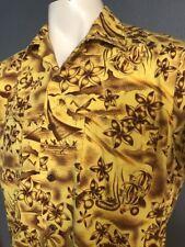 RARE True Vintage WAIKIKI WEAR By Duke Of Hollywood Hawaiian Shirt M Must See !