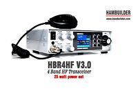 HBR4HF 25W SSB/CW HF Transceiver (80m, 40m, 30m, 20m)