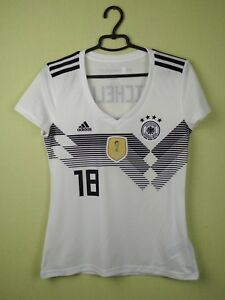 Germany jersey womens shirt 2018 Home adidas football soccer Size M Michelle