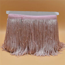 New 1-10 Yards 15CM Lace Fringe Trim For Latin Dress Stage Clothes Accessories