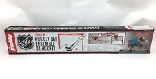 Franklin NHL Youth Hockey Set - No Assembly Required - Net, Sticks, Ball