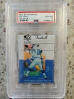 2000 Football Pack Upper Deck SP Authentic  PSA 10. Tom Brady Rookie Card Invest