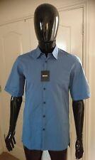 DKNY Short Sleeve Shirt Blue Small Size BRAND NEW RRP £70