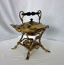 VIntage Chinese/Japanese tea pot with stand samovar