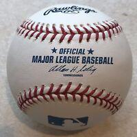 Unused MLB Rawlings Baseball.  ROMLB