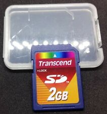 TRANSCEND SD MEMORY CARD 2GB