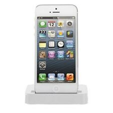 NEW WHITE DOCKING SYNC PORT STAND CRADLE FOR IPHONE 5/5G & IPOD TOUCH 5