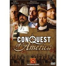 CONQUEST OF AMERICA (DVD SET) AE A&E THC the history channel mini series NEW