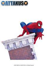 ATTAKUS BOMBYX  SPIDER-MAN 3D BUILDING STATUE MIB#732 Bust MARVEL Maquette Venom