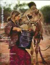 Telegraph Magazine: Queen of the Desert, John Lewis turns 150! 19 April, 2014