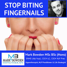 STOP BITING FINGERNAILS HYPNOSIS CD - nail finger chewing how to polish biter