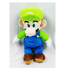 """Nintendo Super Mario Brothers Luigi 16 """" Plush Backpack Tote- NEW with Tags!"""