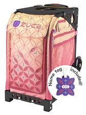 Zuca Bag Sunset Insert & Black Frame w/Non-Flashing Wheels - Free Seat Cushion