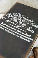 Jeanne d'Arc Living Vintage Schablone Corner Stempel Hookham´s 14x10cm Stamp