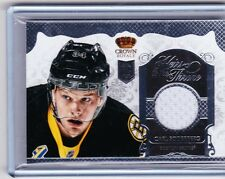 13-14 2013-14 CROWN ROYALE CARL SODERBERG HEIRS TO THE THRONE JERSEY CSO BRUINS