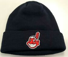 New!  MLB Cleveland Indians Embroidered Cuff Beanie
