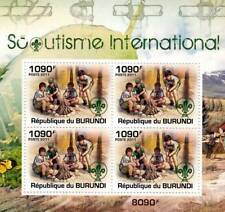 SCOUTS / International Scouting Stamp Sheet #4 of 5 (2011 Burundi)