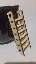 Plywood Laser Cut Fairy Door Pixie Elf Ladder Craft Made Embellishment