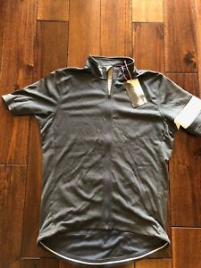 RAPHA CLASSIC MENS SHORT SLEEVE JERSEY - Large / Grey / EUCWT