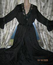 New listing Vtg Nwot! Henson Kickernick Nightgown Set Rich Black! Look! Beauty! L
