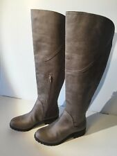 Lucky Brand Women's Harleen Over-The-Knee Boot (1176,1177) Brindle Size 7.5M