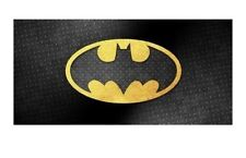 "Batman ""Emblem"" Beach Towel 100% Cotton Logo Large new"
