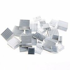 30pc 2 Sizes Raspberry Pi3 Heatsink Fans Pure Heat Sink Aluminum to Cooling Pi2